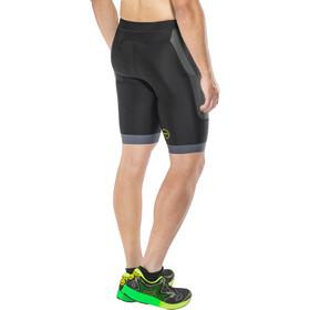 Zone3 Aquaflo+ Tri Shorts Herrer, navy/grey/neon green